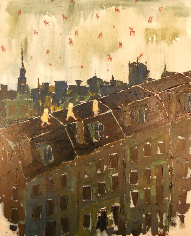 "warsaw :: 32""x26"" :: oil on canvas"