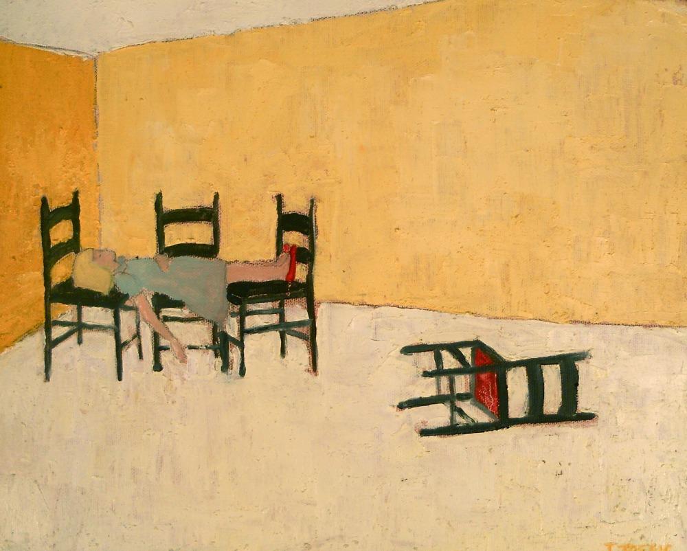 "lebensraum :: 11""x14"" :: oil on canvas"