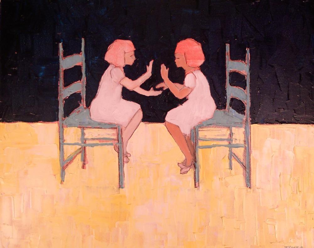 """Ally :: 16""""x20"""" :: oil on canvas"""