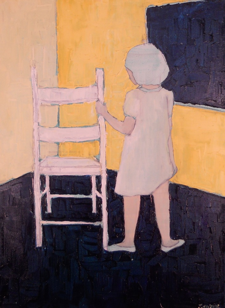 "adolf :: 18""x24"" :: oil on canvas"