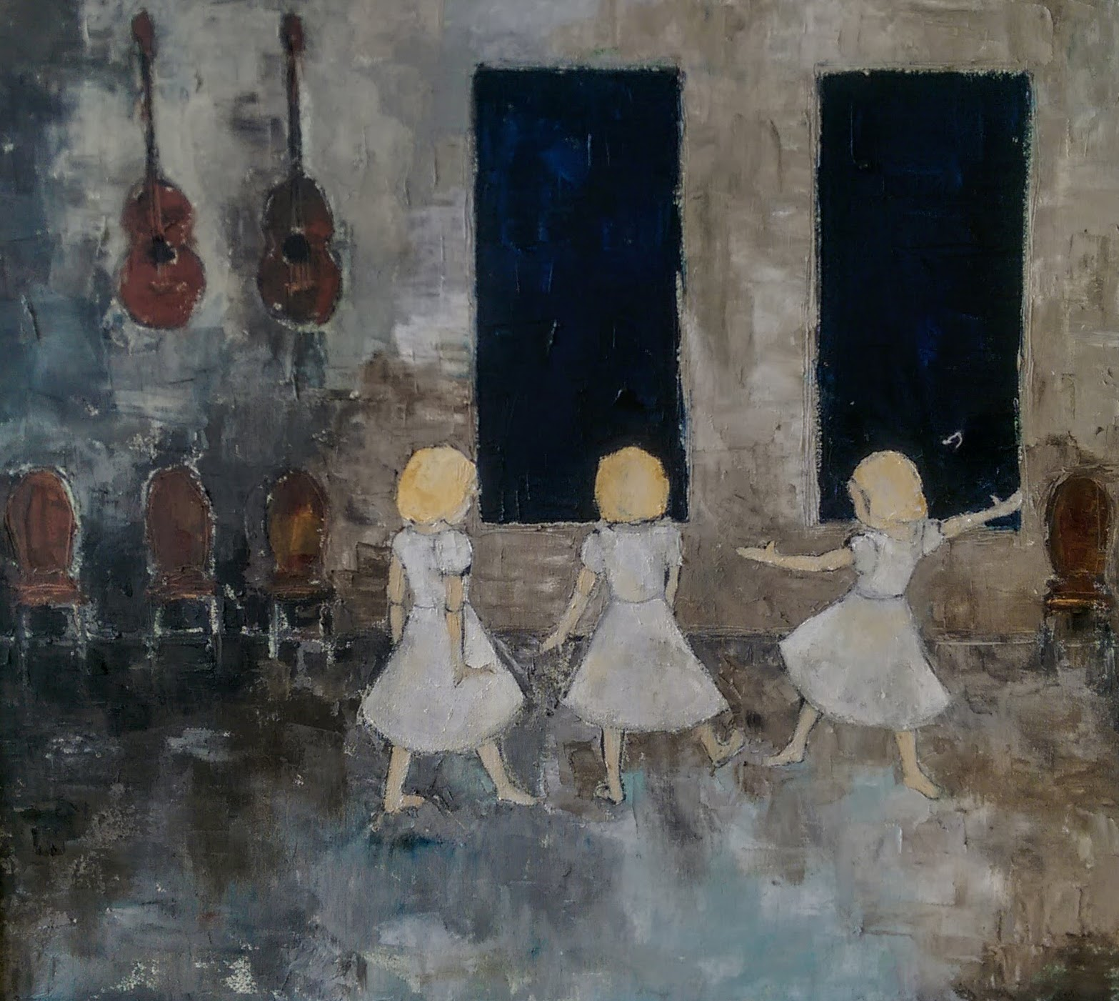 """mila :: 22"""" x 30"""" :: oil on canvas"""