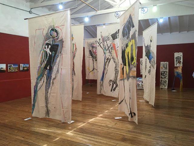"""Museo MAJA, Jerico.  Muestra: """"De la piedra al viento""""."""