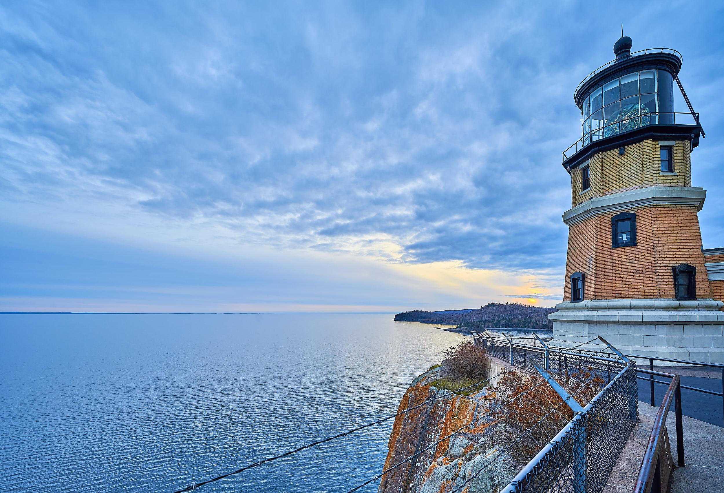 Split Rock Lighthouse Minnesota Lake Superior Sunset | Photo by BillyBengtson.com