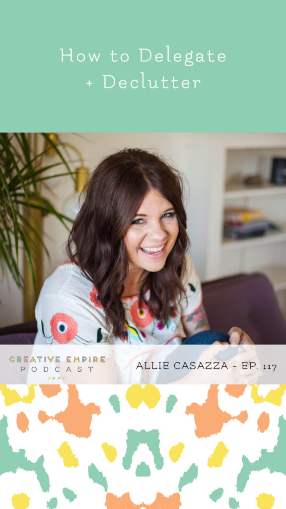 Creative Empire Podcast | Episode 117 | Alliie Casazza | Insta Story Graphic