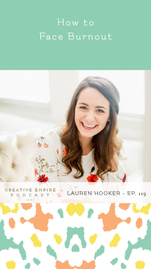 Creative Empire Podcast | Instagram Story Template | Episode 119 with Lauren Hooker