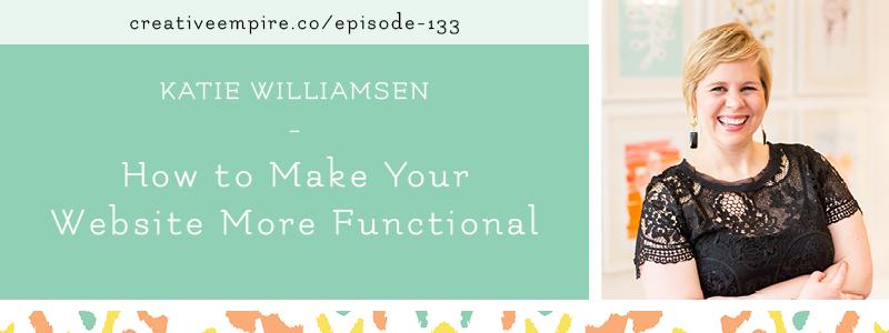 Email Header | Episode 133 | Katie Williamsen