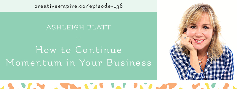 Email Header | Episode 136 | Ashleigh Blatt
