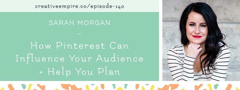 Email Header | Episode 140 | Sarah Morgan