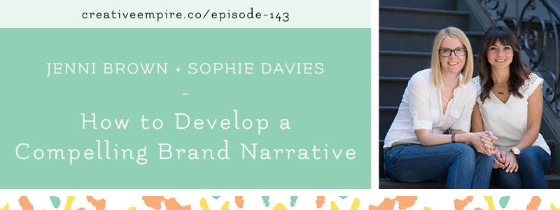 Email Header | Episode 143 | Jennie Brown & Sophie Davies