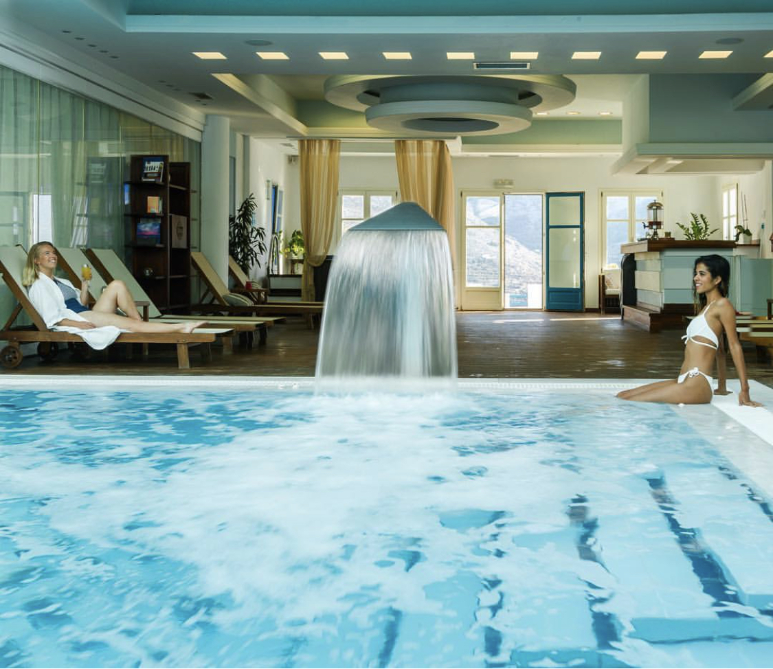 Free access to the spa
