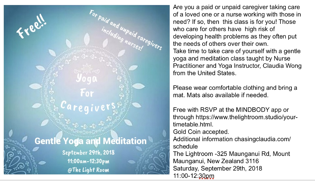 Event was featured in the Sun Times!  https://www.sunlive.co.nz/news/189938-whatrsquos-on-free-yoga-caregivers.html