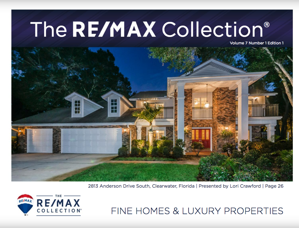The RE/MAX Collection Magazine - RE/MAX luxury agents anywhere in the world can customize and advertise in this bimonthly marketing tool in printed and digital formats. Agents have the option to place full-page property ads or customize the magazine with a listing on the front cover, agent biography on the inside front cover, and call to action and photo on the back cover. This amazing marketing opportunity is exclusive to properties in The RE/MAX Collection.