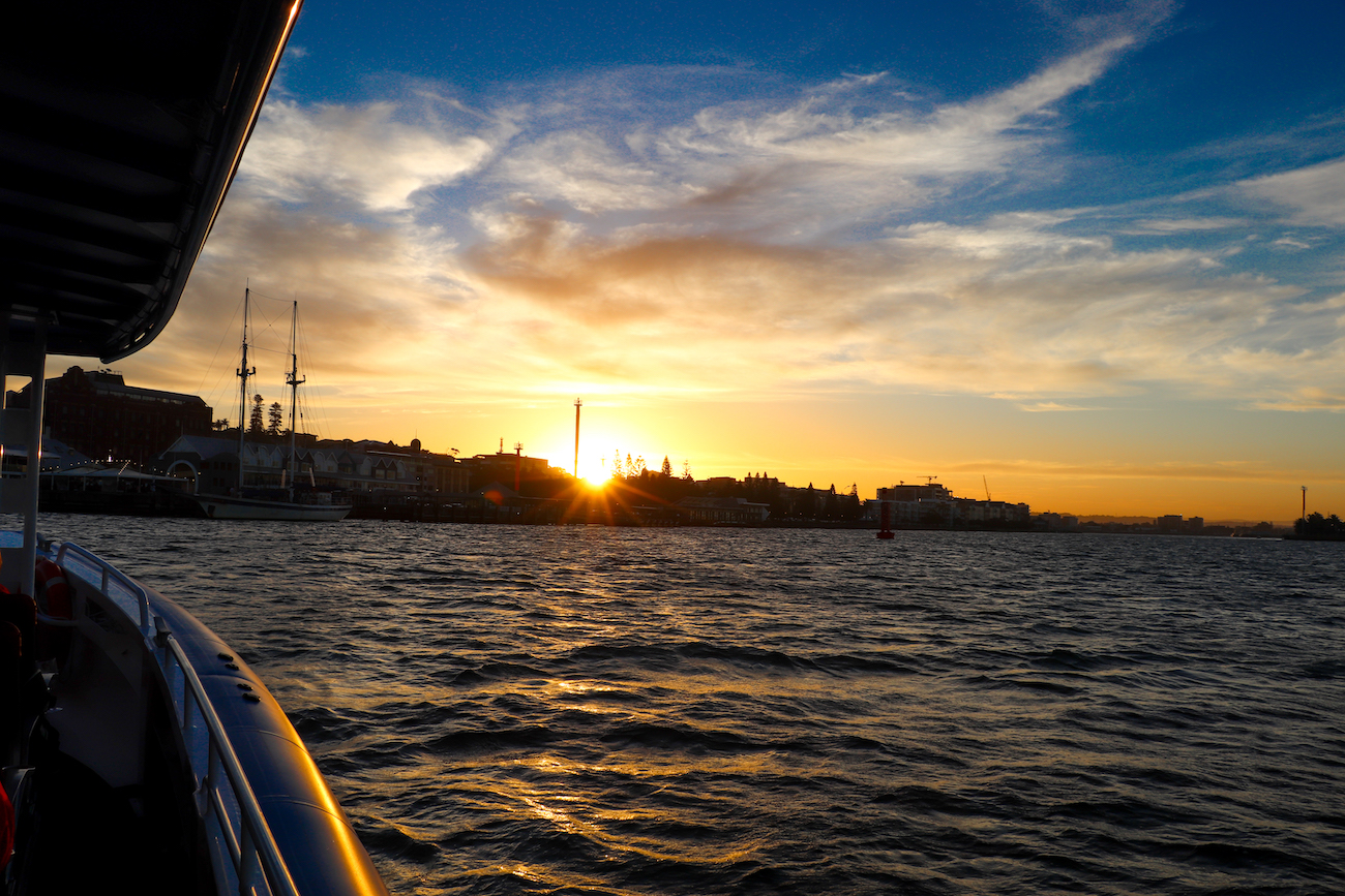 Sunset-Cruise-Newcastle-Harbour