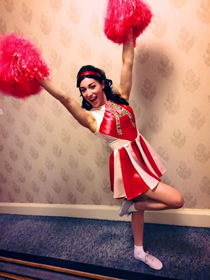 Vintage Cheerleader