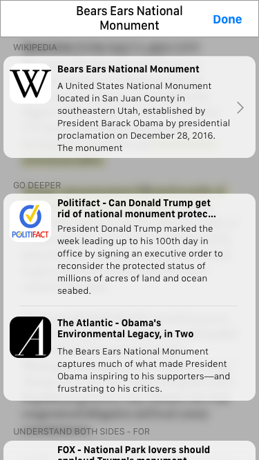 My focus for this feature was to match current iOS experiences and clean up the interface