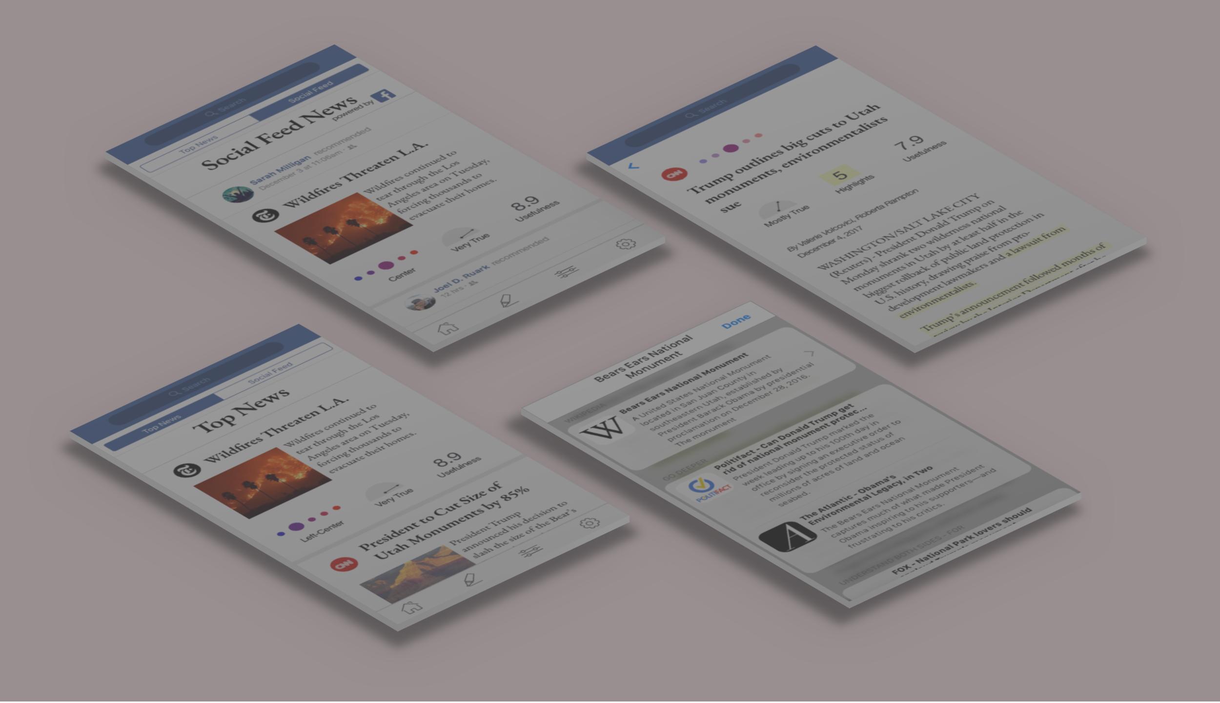Impact-Driven News App Design - PASSION PROJECT (CONCEPTUAL)