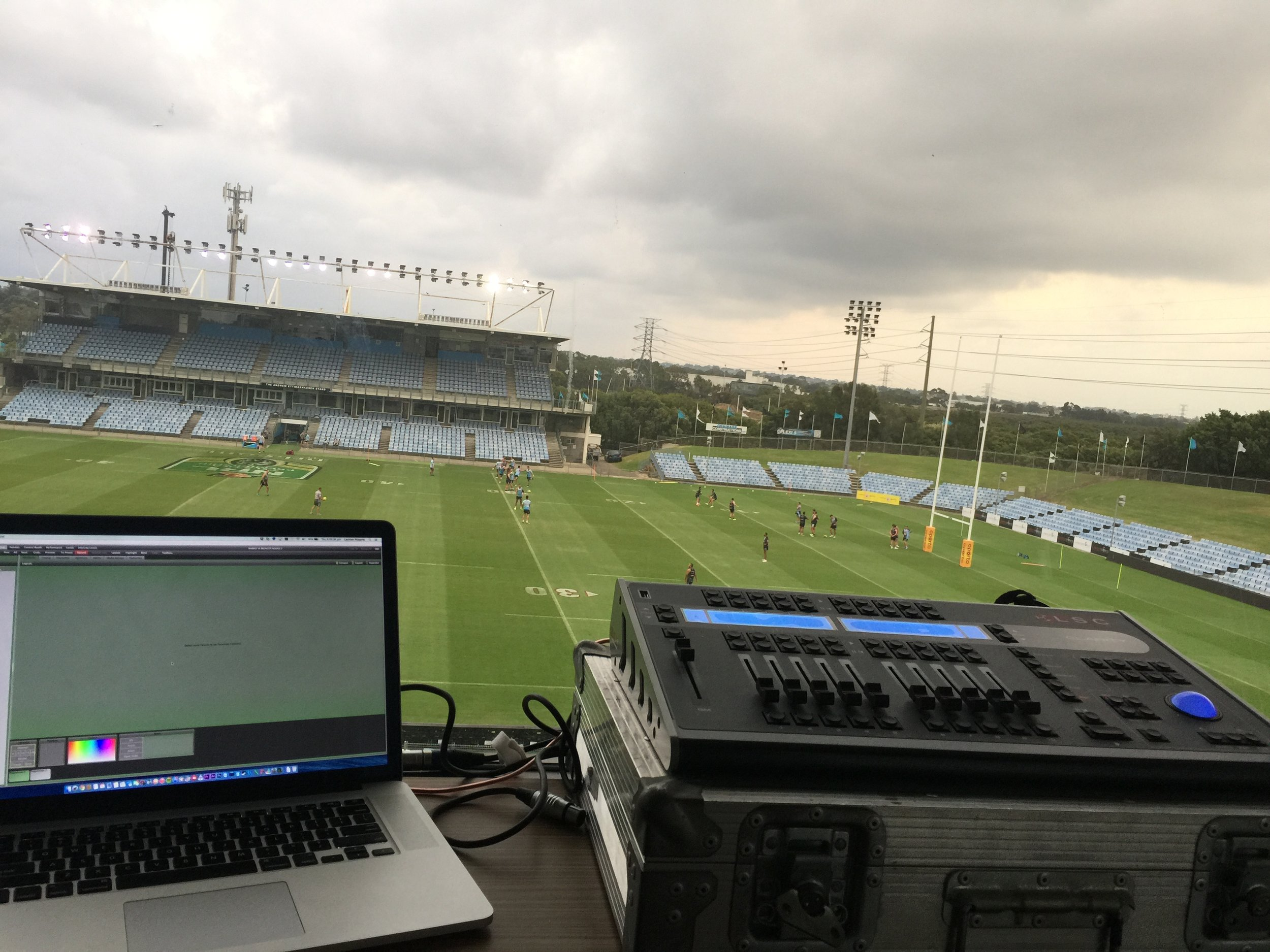 Cronulla Sharks Game Day Field Lighting