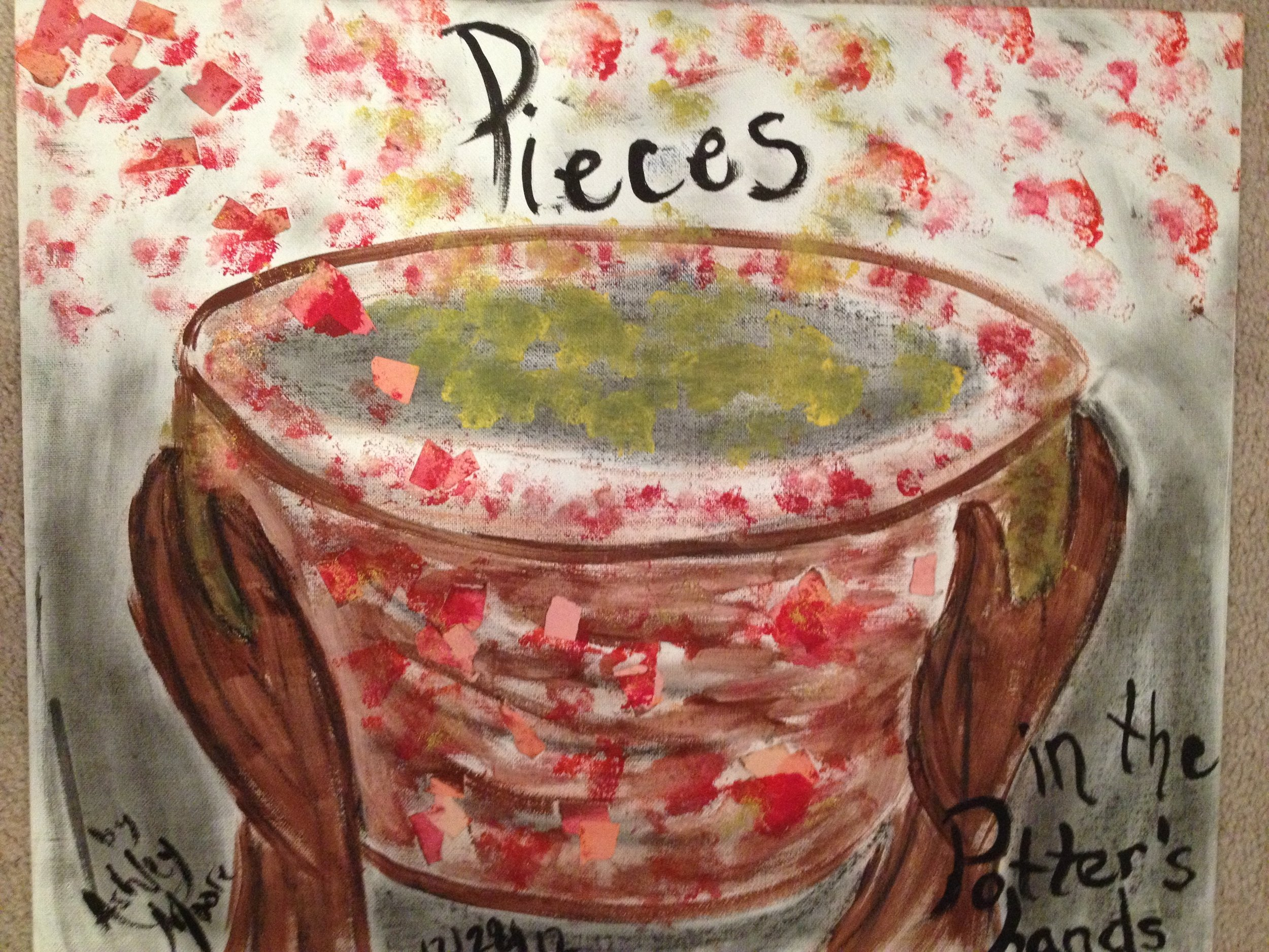 """Pieces in the Potter's Hands"""