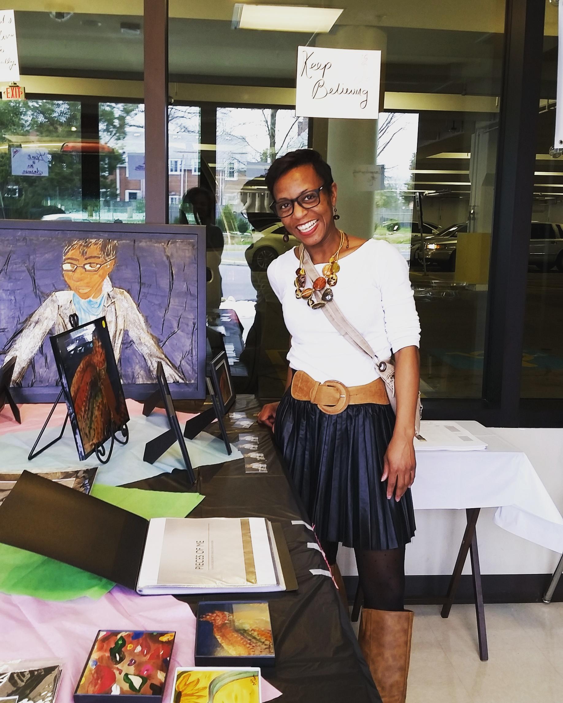 Ashley J. Moore Ellis - Educator, Writer, Artist, Workshop FacilitatorEmail: Ajmoore728@gmail.comInstagram: @piecesofajm