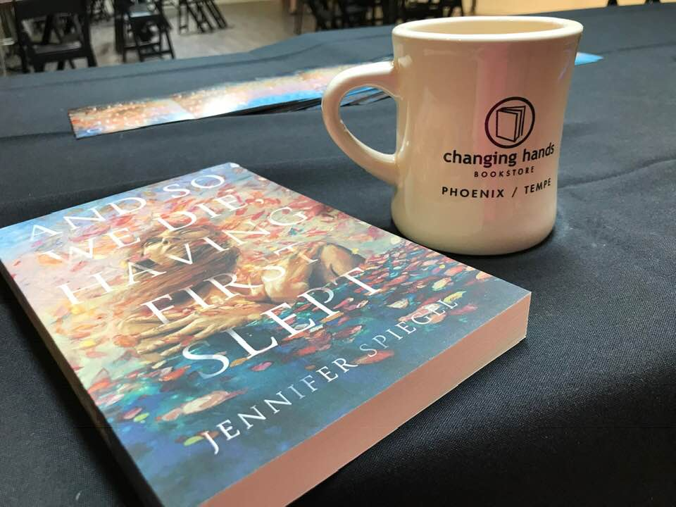 Indie Bookstore Day was April 27, and I signed books at Changing Hands Bookstore in Phoenix! -