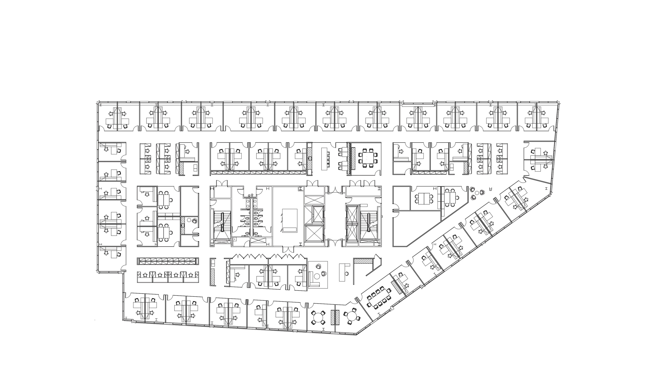 Perimeter Office Plan