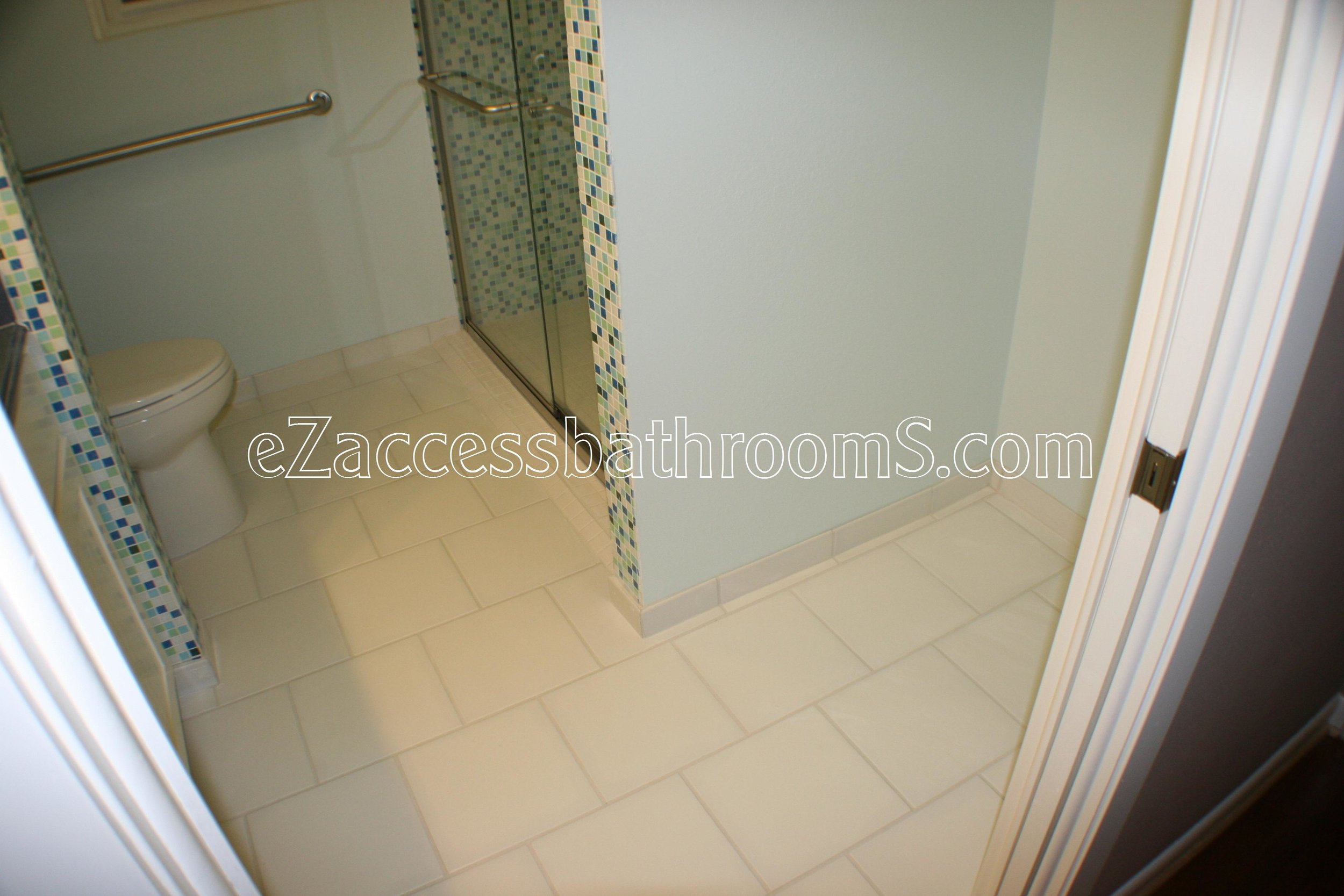 Holmes Barrier Free Shower Ezaccessbathrooms Com