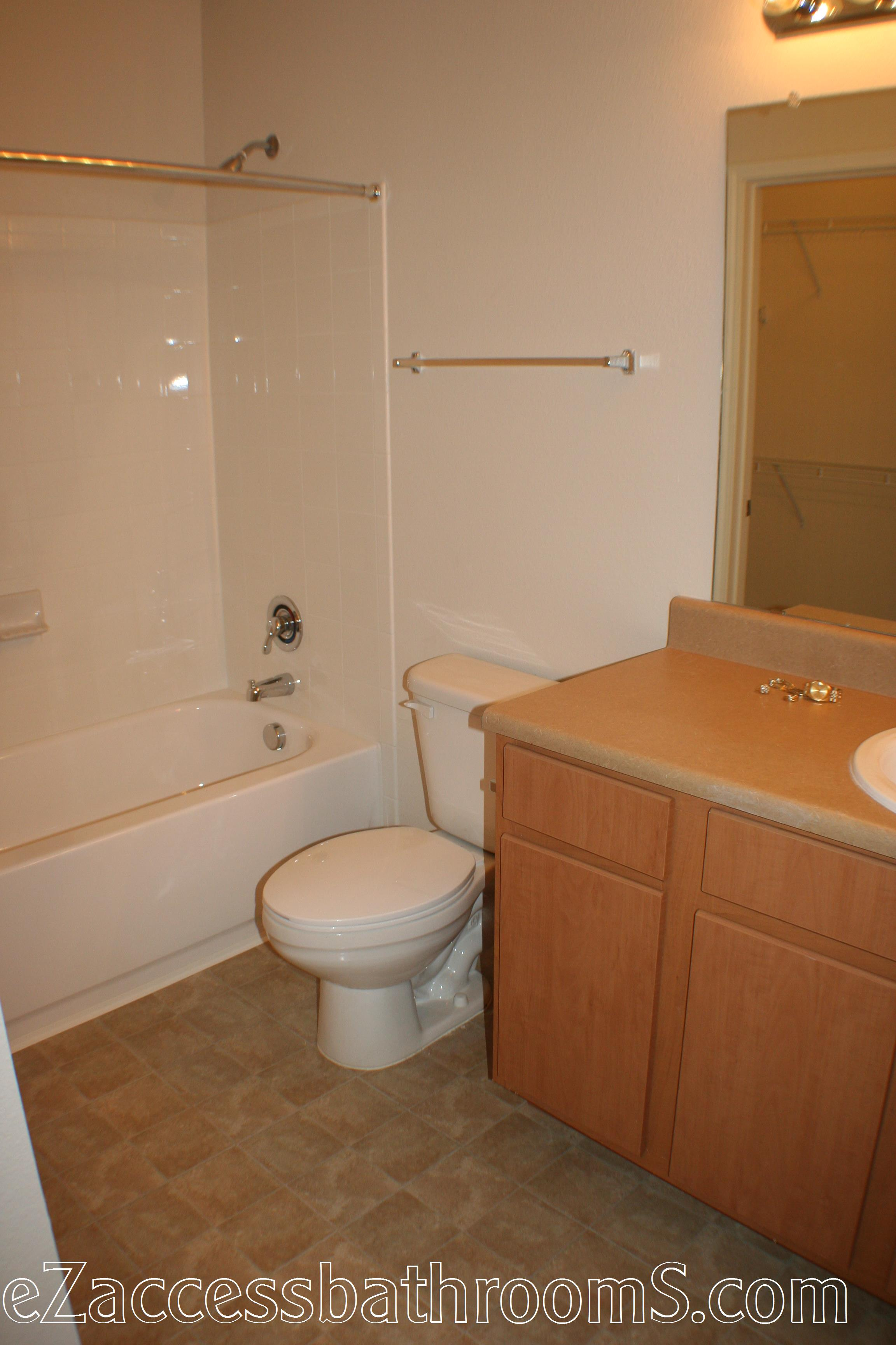 cheap tub to shower conversion ezaccessbathrooms.com 002.JPG