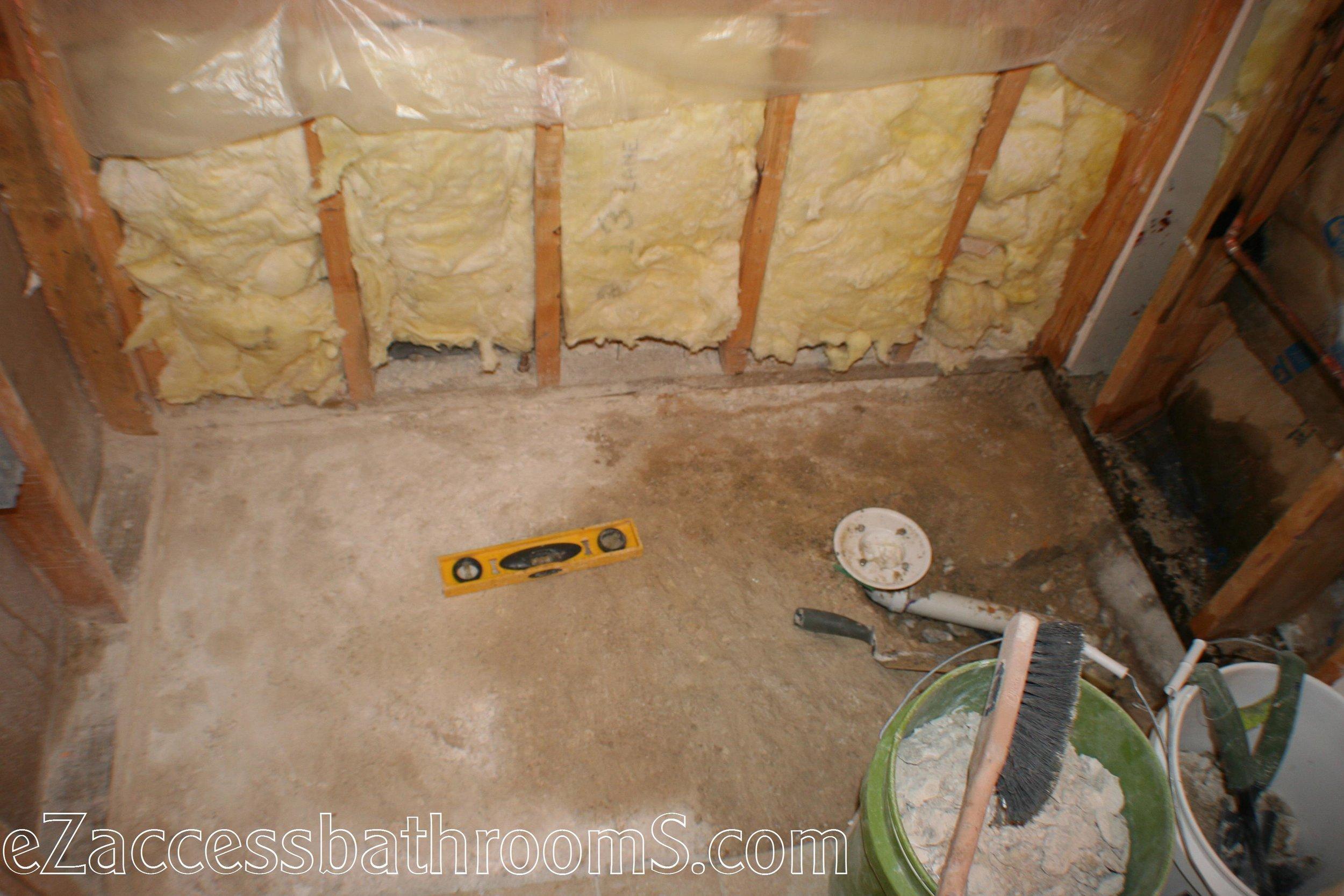 cheap tub to shower conversion ezaccessbathrooms.com 020.JPG