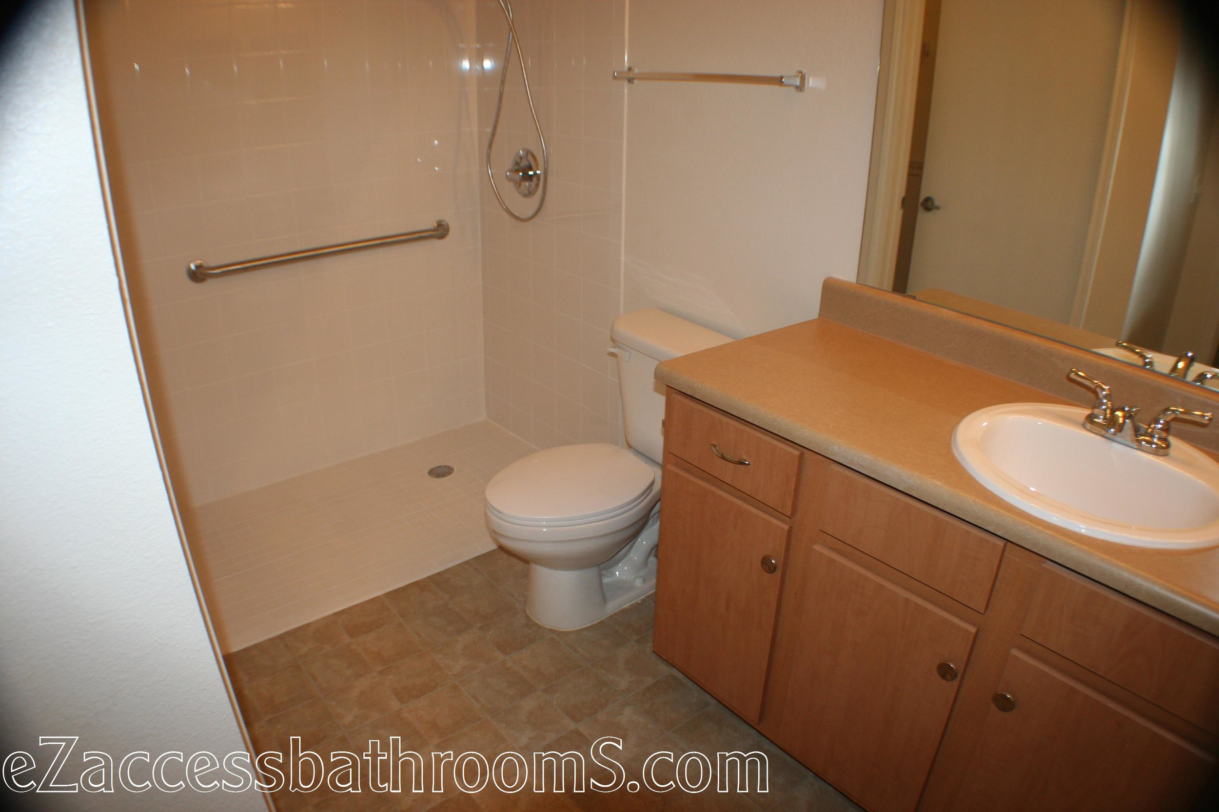 cheap tub to shower conversion ezaccessbathrooms.com 022.JPG