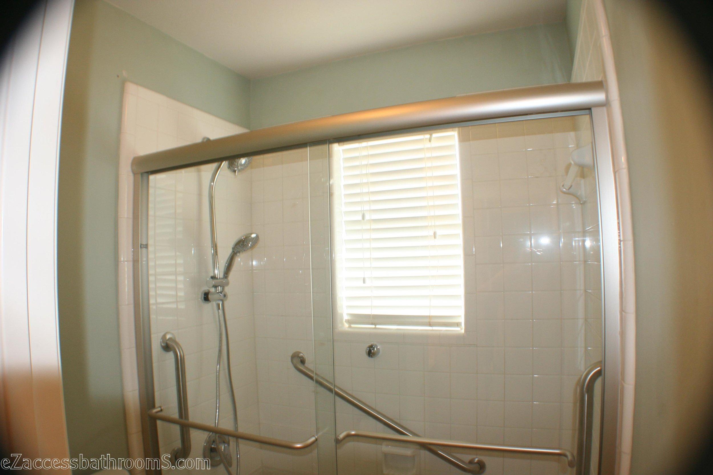 Budget tub to shower conversion ezaccessbathrooms.com 8322028473 012.JPG