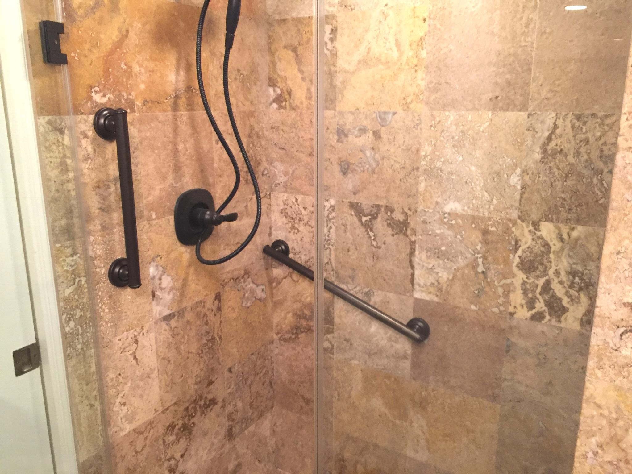 moen+bronze+grab+bar+installation