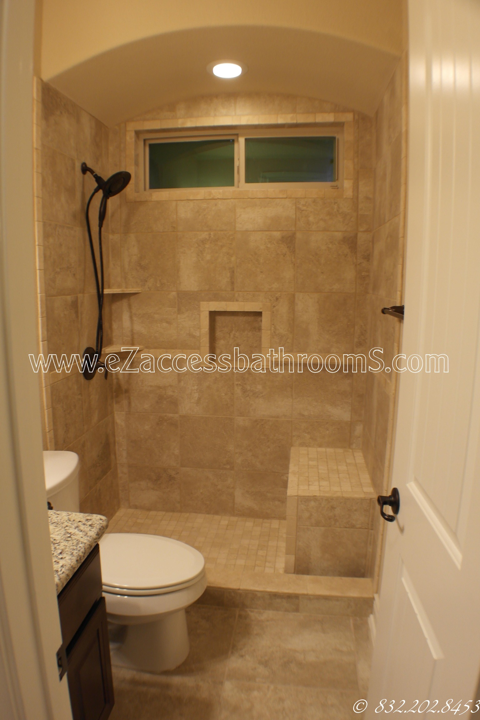 FROM A STANDARD TUB TO SHOWER CONVERSION