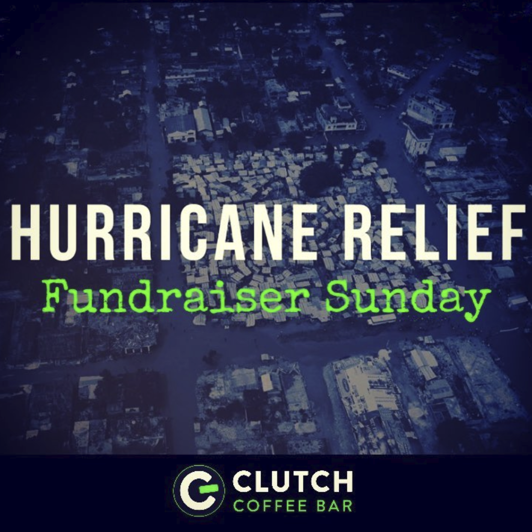 Hurricane Relief: $1,592 donated!   We pride ourselves on being a vital part of the community, so on 10/7/18 we donated $1 from every drink sold to help our neighbors in need that were affected by  #hurricaneflorence  ❤️  The New Hanover County Schools Hurricane Relief Fund helps not only support the rebuilding efforts of the impacted schools, but also directly helps the children & families impacted on a personal level with basic necessities.