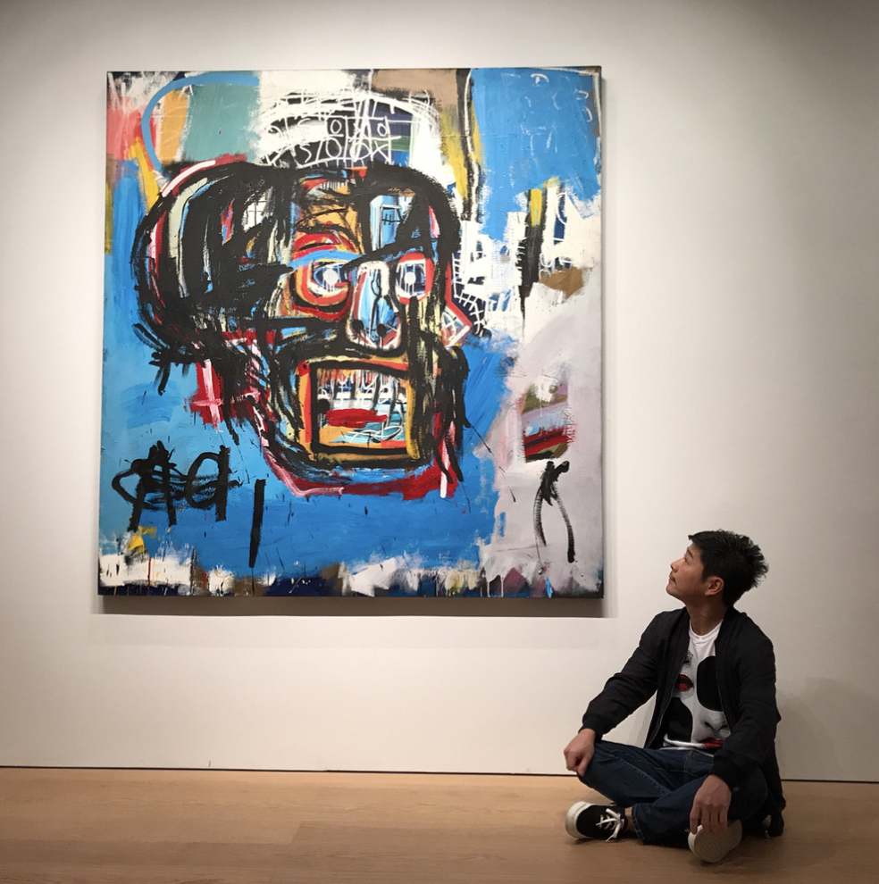 Via IG Yusaku2020 | Basquiat    Read The Complete Guide To Jean-Michel Basquiat References In Hip-Hop via @Complex