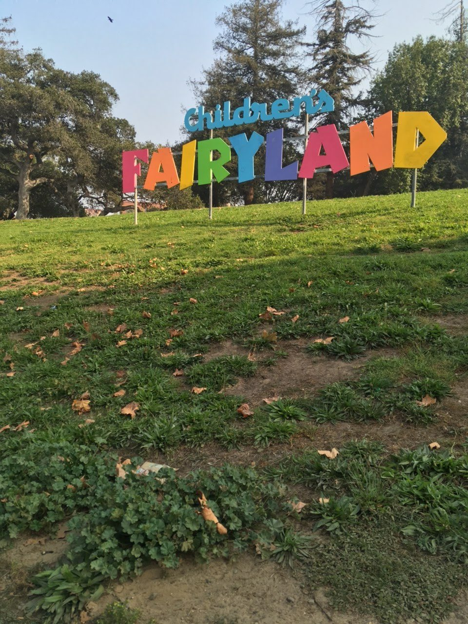 i cant believe that fairy land was next to lake merritt