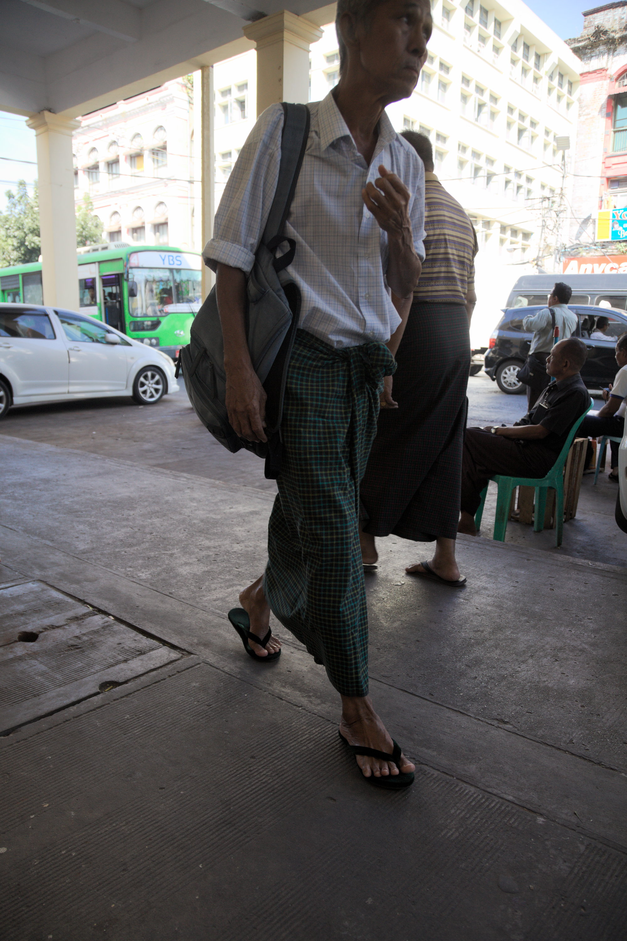 The commuter, Yangon