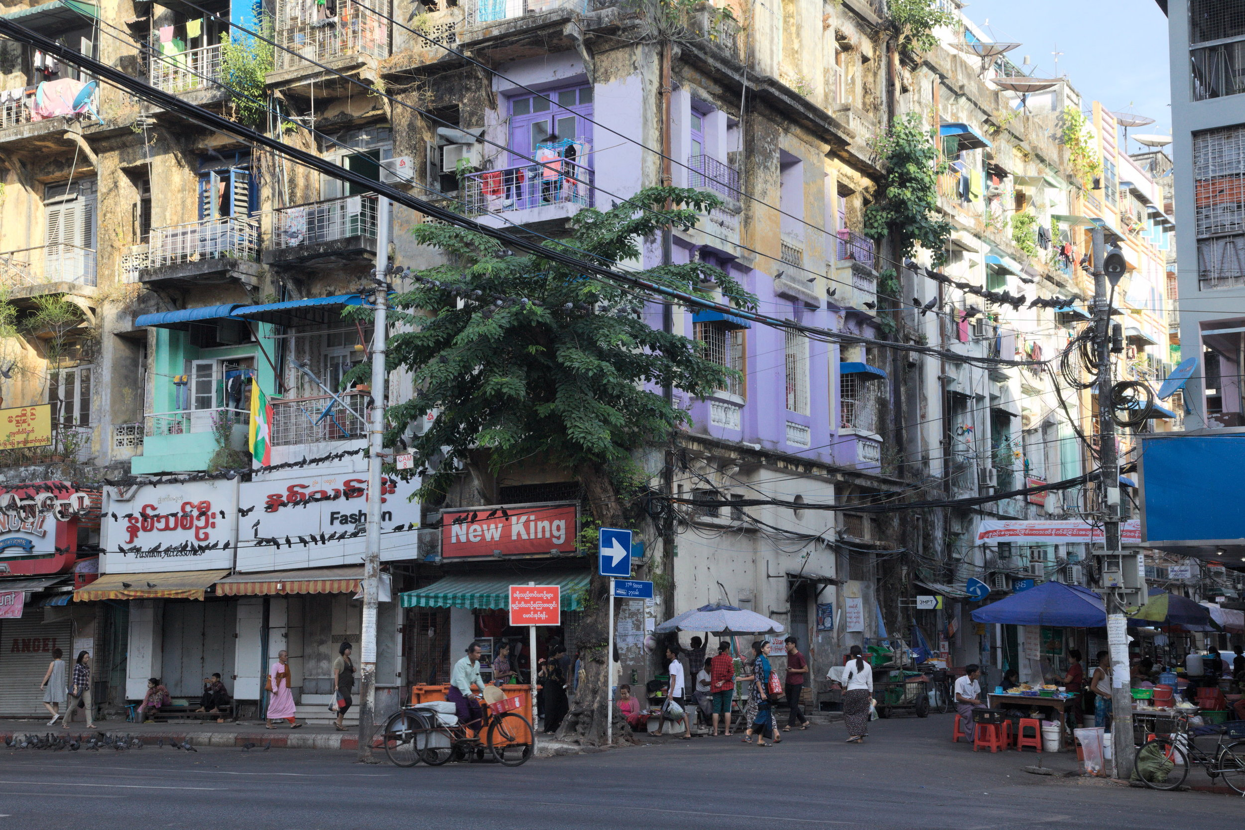 Yangon Colours