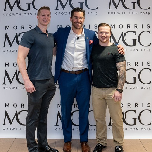 These guys are action takers. 🔥🙌 . They heard about Morris Growth Con and David Meltzer and drove immediately from Boston to make it in time to see him. . They got their wish. I introduced them to David and had an awesome mentoring session. . Opportunities come and go in a flash. . Will you seize the next one? . . #morrisgrowthcon2019 #opportunity #davidmeltzer #seizeyourmoment #takeaction #businessbuilding