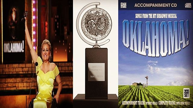 After last night's Tony Awards, Oklahoma! is doing more than O-K! Congrats to Ali Stroker on her historic win as featured actress in a musical and to Oklahoma! for taking home the gold for best musical revival. As fantastic as the new orchestrations may be, nothing beats Rodgers & Hammerstein's original score. So follow the surrey with the fringe on top over to www.stage-stars.com to hear our recordings of the classic score. Enter discount code JUNE2019SALE at checkout to receive 20% the purchase of the full CD or download of the full digital album! #tonys #tonys2019 #broadway #stagestars #stagestarsrecords #oklahoma #alistroker #revival #musical #featuredactress #win #awards #sale #discount #20off