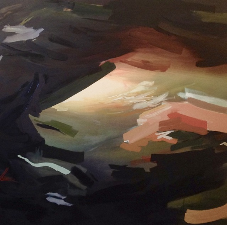 """untitled.  60"""" x 72"""" - oil on canvas -  s o l d"""
