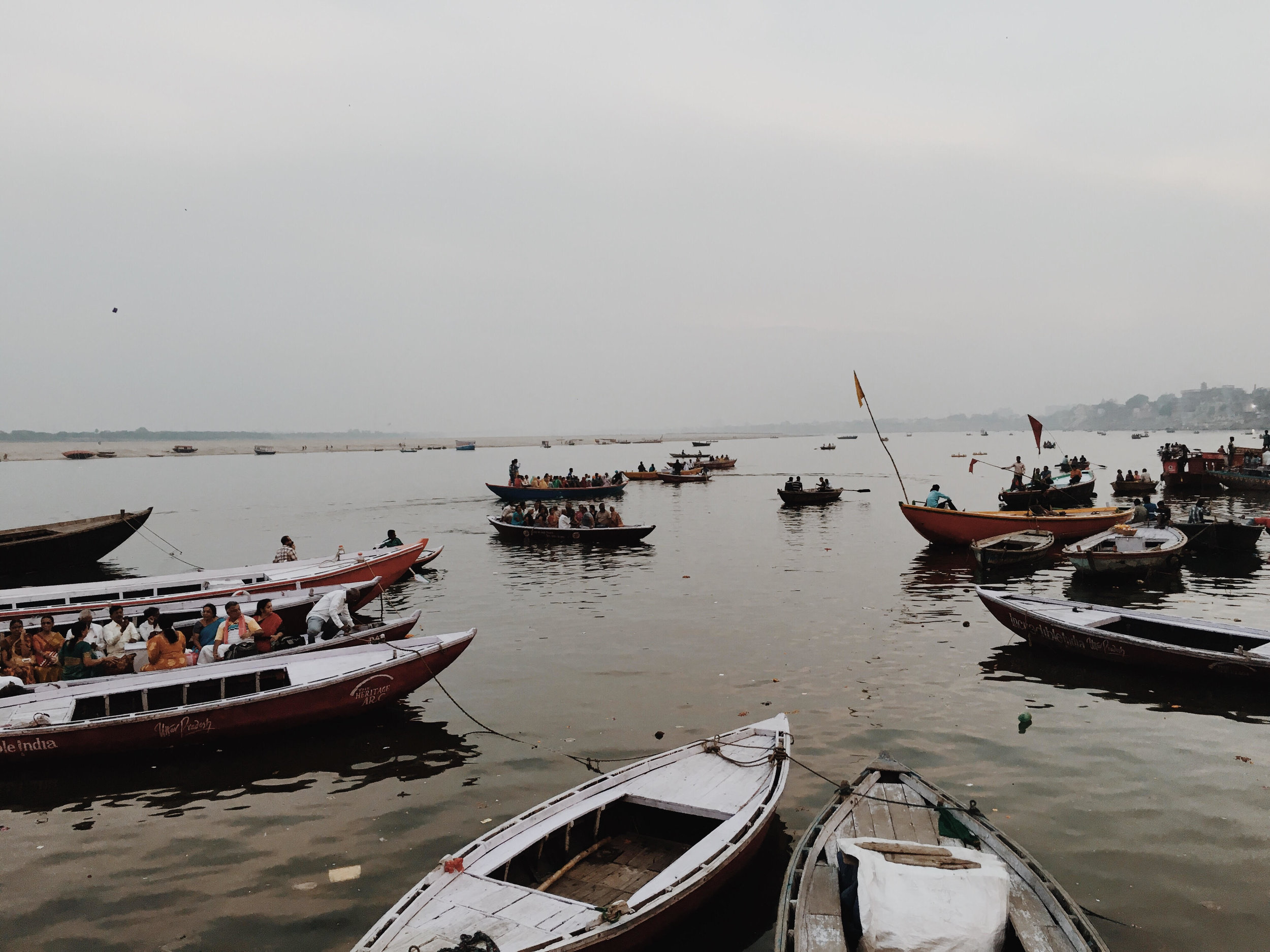 The Ganges, Varanasi in a photoessay