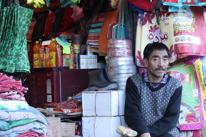 Old town market in Kargil