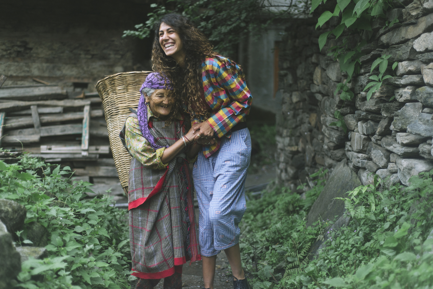Campaign for MATTER Prints, Singapore shot in a Himalayan village