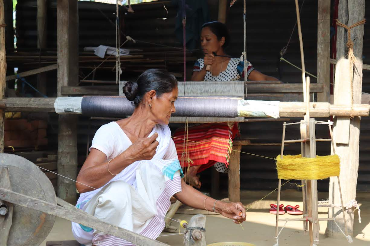 Gunita Weaving.JPG