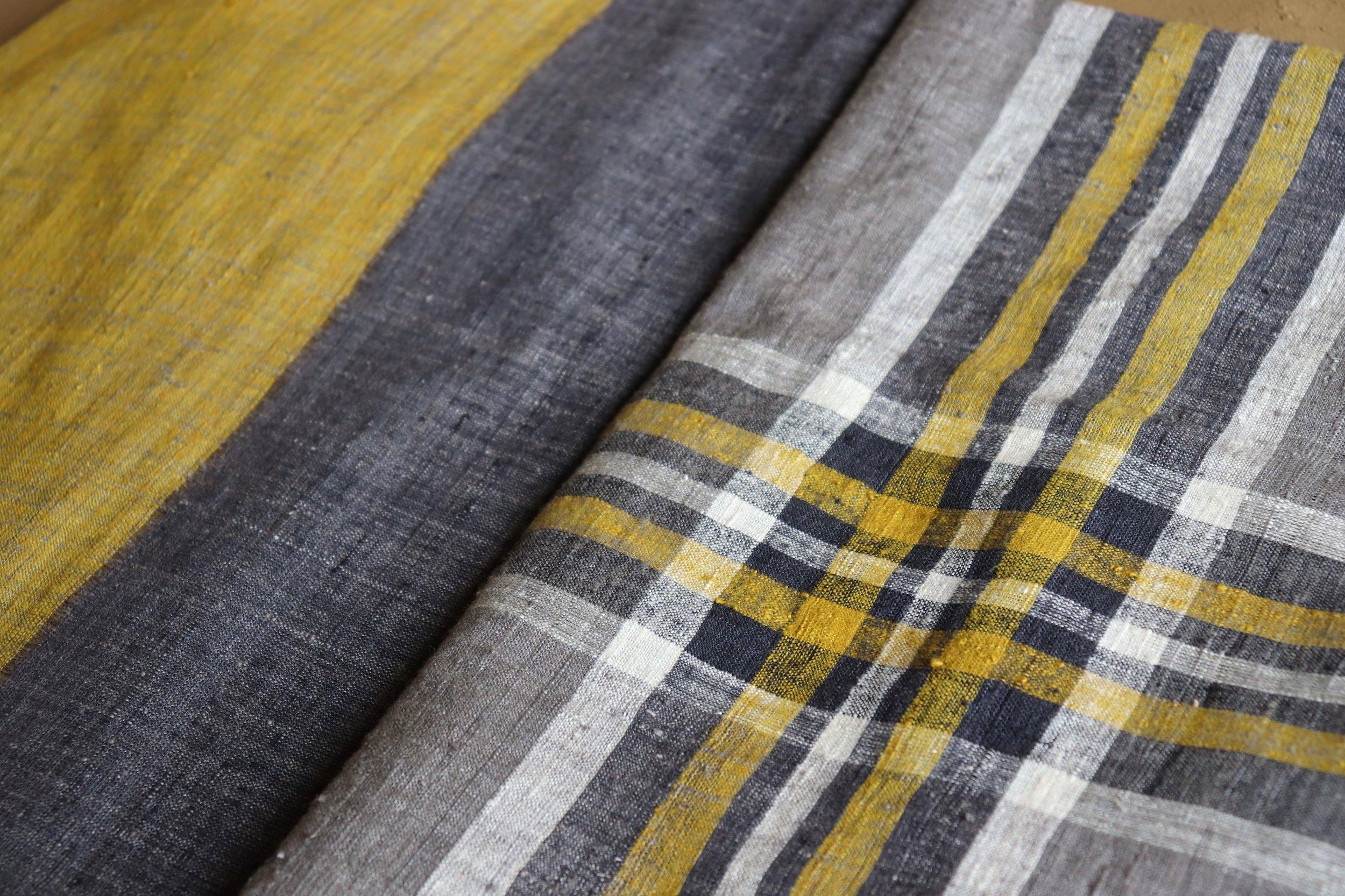 Grey + Yellow Eri Textiles.jpg