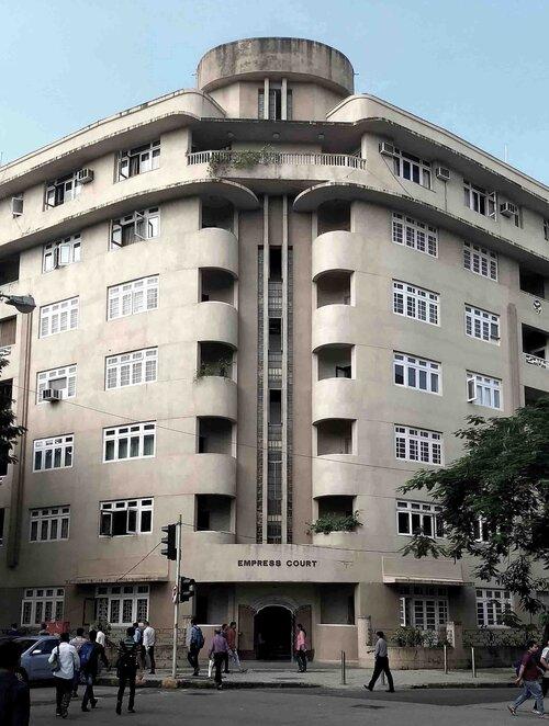 Art Deco Architecture of empress court marine drive