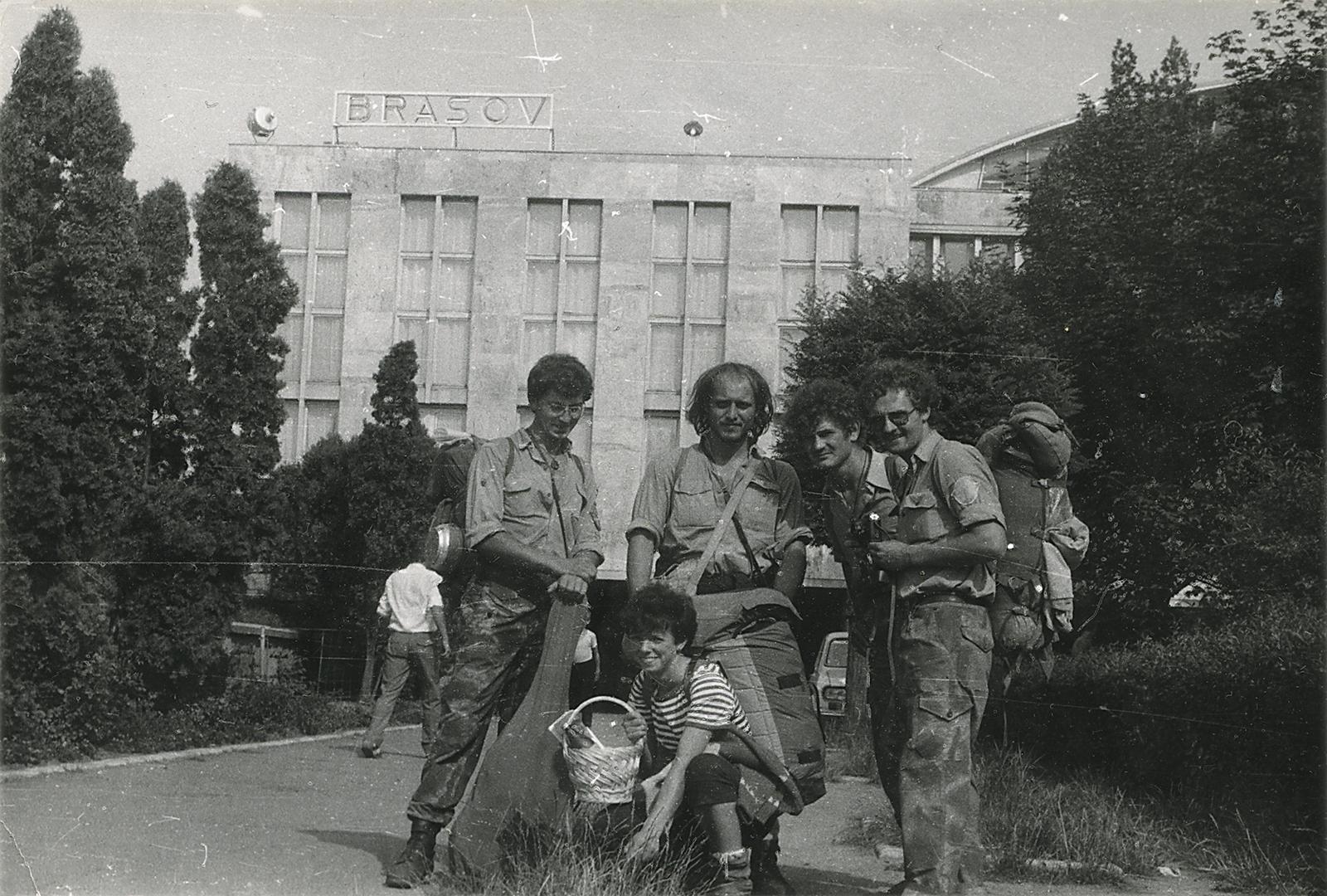 Nádraží Brašov – Rumunsko / červenec 1986