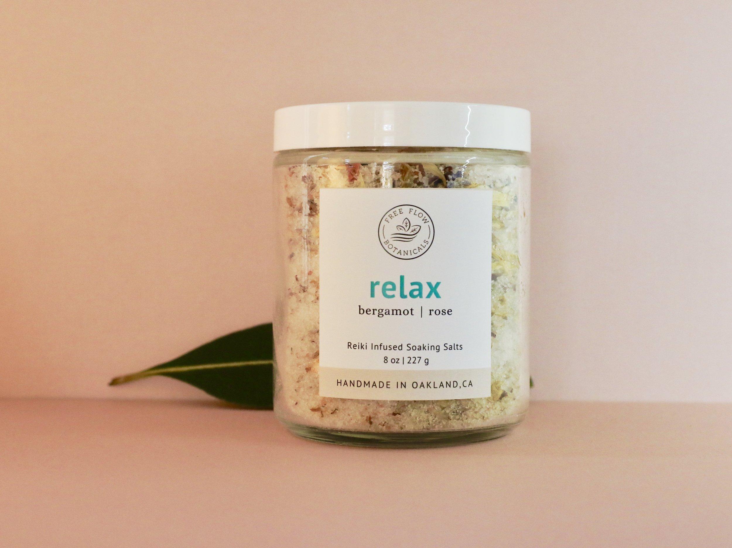 Relax Soaking Salts - $14