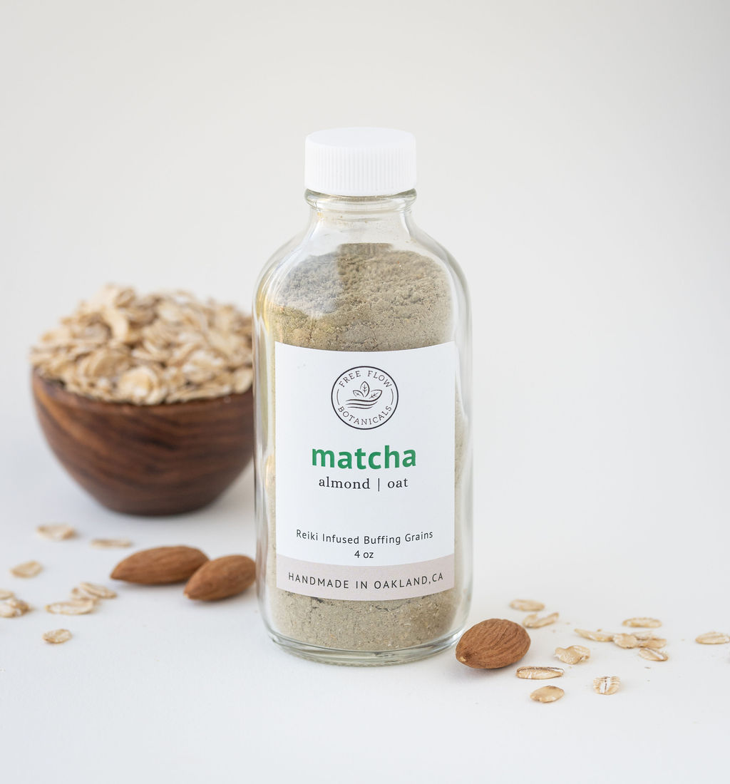 Matcha Buffing Grains - from $4