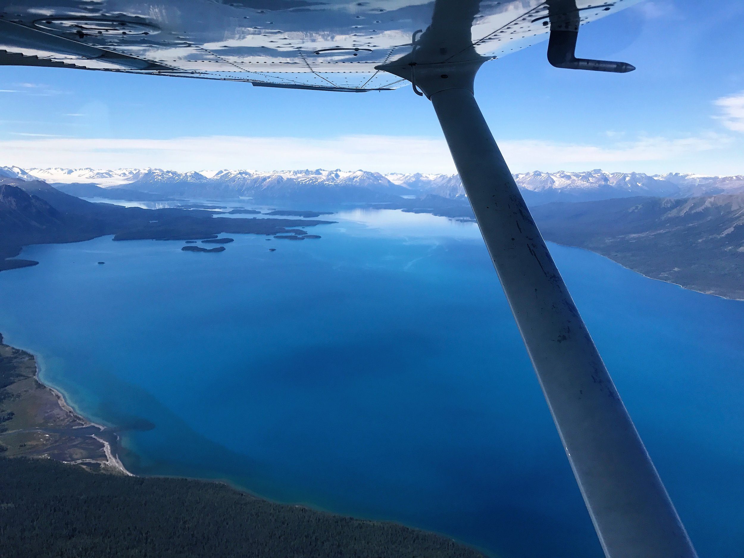 Ubearable beauty of the North (approaching Atlin)